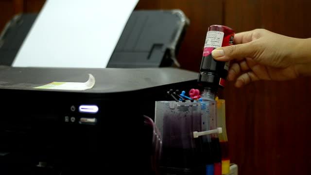 Refill ink Printer