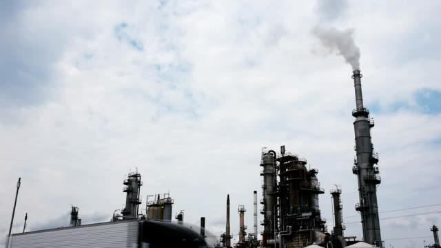 Refinery Orange Grove Texas outside of Corpus Christi Fossil Fuel Industry Destroying Environment
