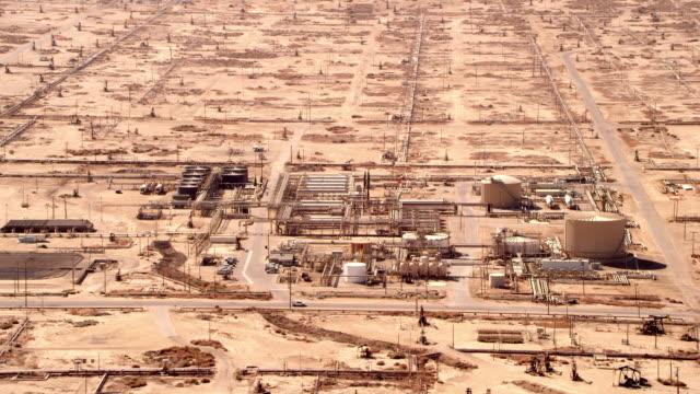 Refining operation in desert
