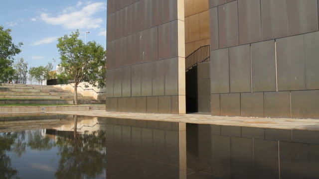 OKC Reflecting Pool at the Bombing Memorial