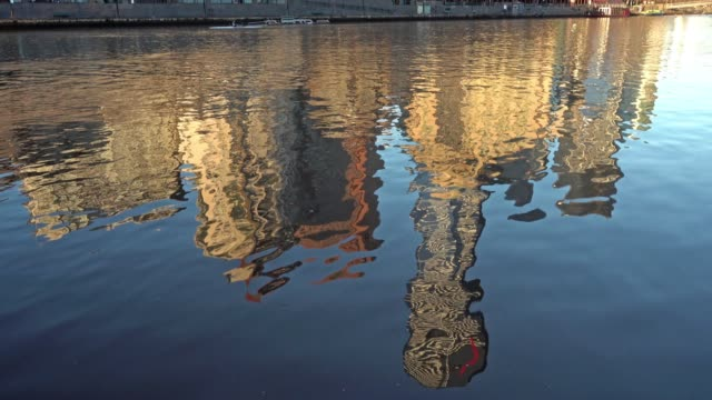 Reflection of Southbank Melbourne
