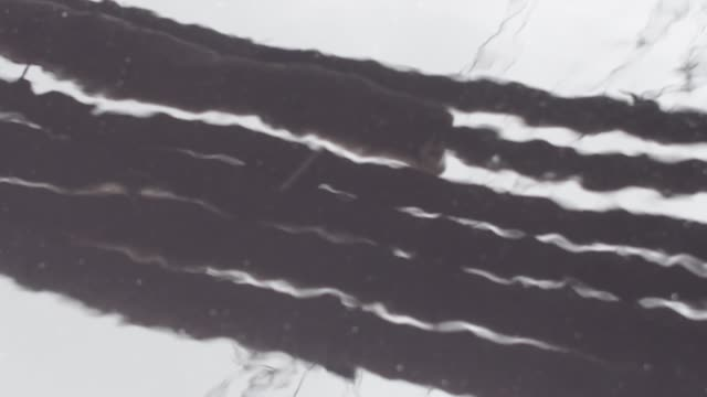 reflection of the make-shift bridges in the textile industrial's untreated wastewater in savar near dhaka on august 8, 2020. - textile stock videos & royalty-free footage