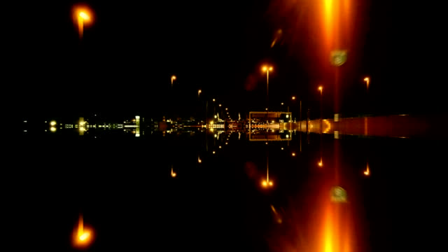 Reflection road.