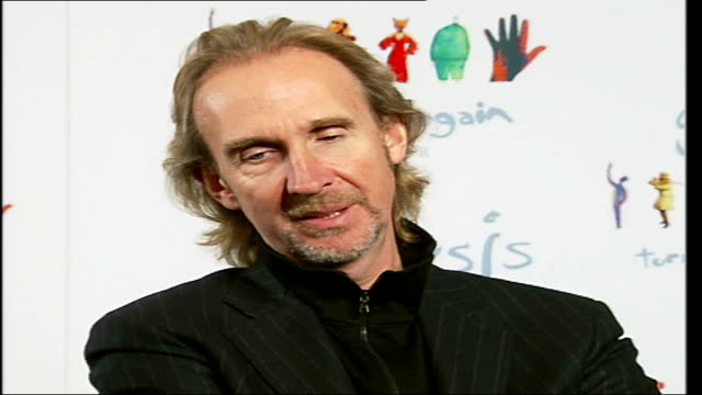 reformed rock band genesis interviewed prior to their twenty date european tour; tony banks, phil collins and mike rutherford interview sot - on idea... - mike rutherford stock videos & royalty-free footage