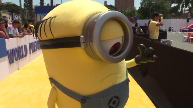 stockvideo's en b-roll-footage met reformed super villain gru adds to his burgeoning family this weekend with the release of despicable me 3 which will likely push the gargantuan... - gru