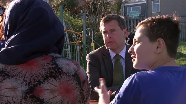 Refugee children and mother face deportation back to Iraq Refugee children and mother face deportation back to Iraq WALES Swansea EXT Refugee family...