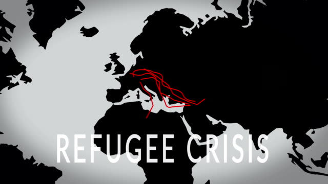 refugees crisis - refugee stock videos & royalty-free footage