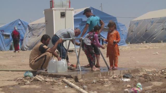 Refugees in Kurdistan fleeing ISIS