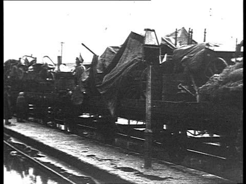 refugees living in train wagons / russia - 1918 stock videos and b-roll footage