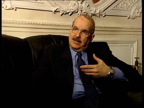 US refused permission to use Saudi Arabia for Iraq strikes ITN London Dr Mudhafar Amin interviewed SOT Bush administration is bent on toppling regime...
