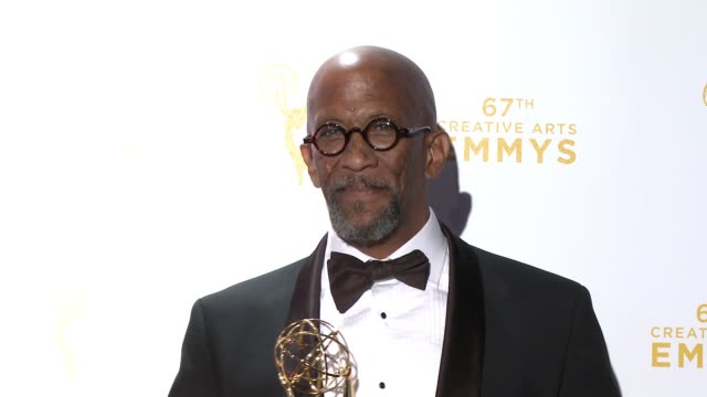 reg e cathey at the 2015 creative arts emmy awards at microsoft theater on september 12 2015 in los angeles california - emmy awards stock-videos und b-roll-filmmaterial