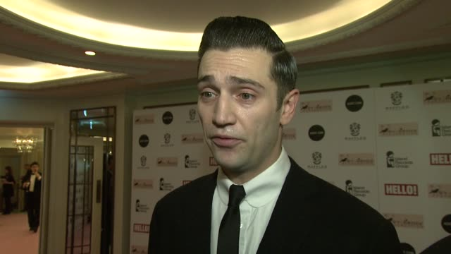 reg traviss on what amy winehouse would have thought of the evening, amy's legacy, his memories of amy at amy winehouse foundation ball arrivals at... - dorchester hotel stock videos & royalty-free footage