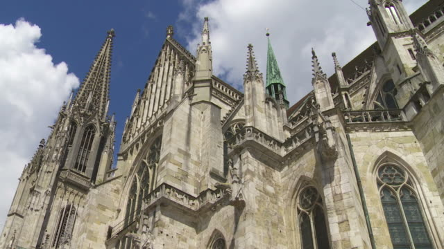 HD Regensburg Cathedral Time Lapse