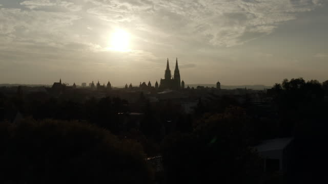 Regensburg in der Abendsonne