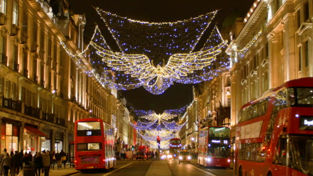Regent Street with Christmas Lights