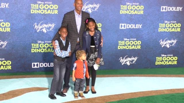 Reggie Miller at The Good Dinosaur Premiere at El Capitan Theatre in Hollywood in Celebrity Sightings in Los Angeles