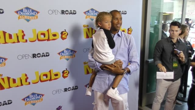 Reggie Miller at The Los Angeles Premiere of 'The Nut Job 2 Nutty By Nature' at Regal Cinemas LA Live on August 05 2017 in Los Angeles California