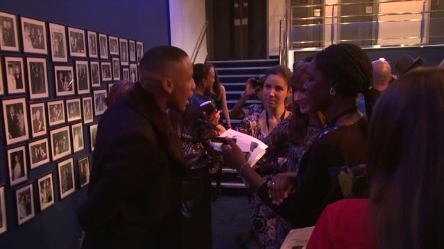 vidéos et rushes de reggie yates at the demons never die premiere at london england. - reggie yates