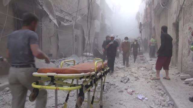 Regime aircraft on Friday pounded rebel areas of Syria's second city Aleppo which was left out of a deal to freeze fighting despite international...