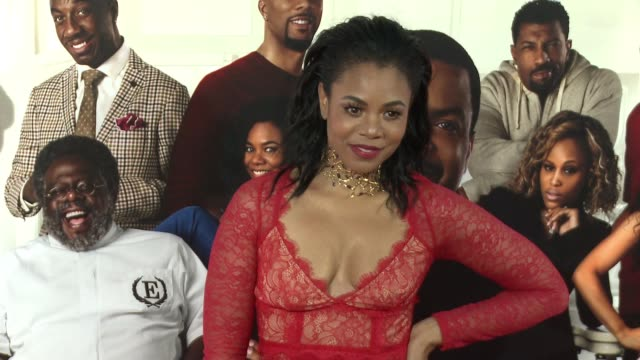 stockvideo's en b-roll-footage met regina hall at barbershop the next cut los angeles premiere at tcl chinese theatre on april 06 2016 in hollywood california - tcl chinese theatre