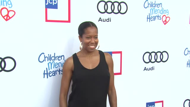regina king at 1st annual children mending hearts style sunday on 6/92/13 in los angeles ca - regina king stock videos and b-roll footage
