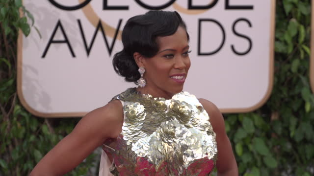 Regina King at 73rd Annual Golden Globe Awards Arrivals at The Beverly Hilton Hotel on January 10 2016 in Beverly Hills California 4K