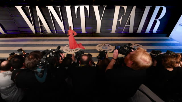 regina king at the 2019 vanity fair oscar party hosted by radhika jones at wallis annenberg center for the performing arts on february 24 2019 in... - regina king stock videos and b-roll footage