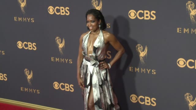 Regina King at the 69th Annual Primetime Emmy Awards at Microsoft Theater on September 17 2017 in Los Angeles California