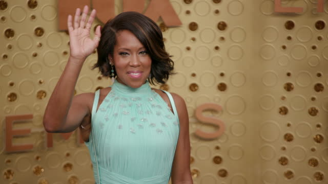 regina king at the 71st emmy awards arrivals at microsoft theater on september 22 2019 in los angeles california - regina king stock videos and b-roll footage