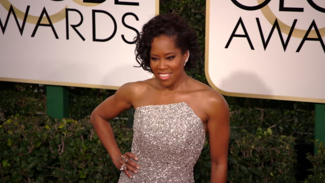 regina king at the 74th annual golden globe awards arrivals at the beverly hilton hotel on january 08 2017 in beverly hills california 4k - regina king stock videos and b-roll footage