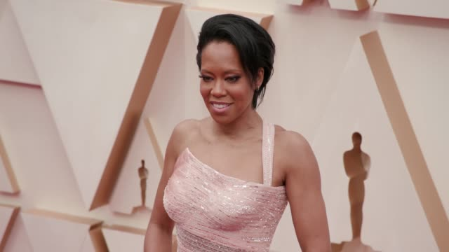 regina king at the 92nd annual academy awards at dolby theatre on february 09 2020 in hollywood california - academy of motion picture arts and sciences stock videos & royalty-free footage