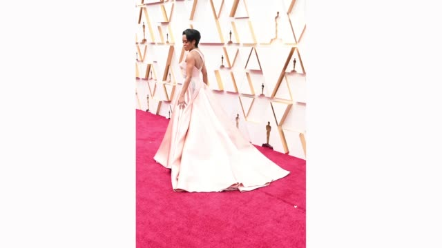 regina king attends the 92nd annual academy awards at hollywood and highland on february 09, 2020 in hollywood, california. - academy awards stock videos & royalty-free footage