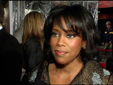 regina king on her character in the film sandra bullock and on upcoming projects at the 'miss congeniality 2 armed and fabulous' us premiere at... - regina king stock videos and b-roll footage