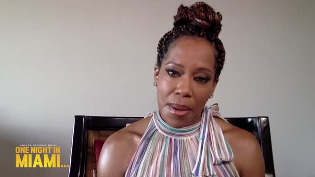 regina king talking about making the film one night in miami in the wake of the blm protests and how she feels about the oscar buzz around her and... - miami stock videos & royalty-free footage