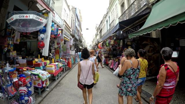 stockvideo's en b-roll-footage met saara regio in rio de janeiro - marktkoopman