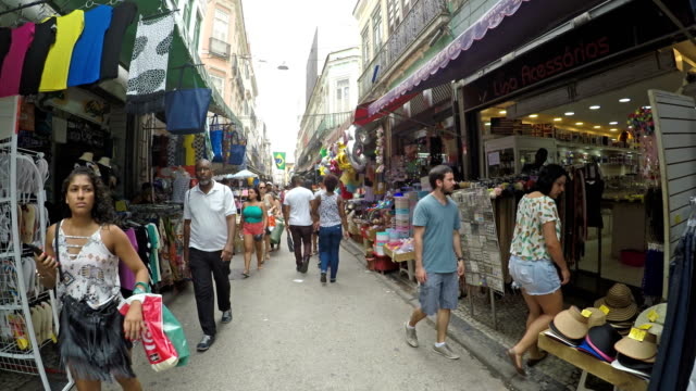 saara region in rio de janeiro - vender stock videos and b-roll footage