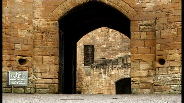 regional and local elections / av referendum results west lothian linlithgow good shot of linlithgow palace and grounds close shot of coatsofarms on... - linlithgow stock videos and b-roll footage