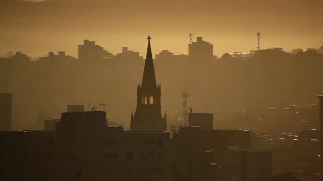 ms regional church / belo horizonte, minas gerais, brazil - horizonte stock videos & royalty-free footage