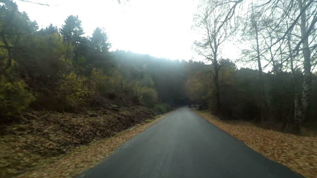 regional road - macedonia country stock videos and b-roll footage