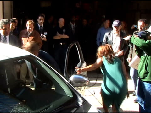regis philbin and carrie ann inaba in new york at the celebrity sightings in new york at new york ny - regis philbin stock videos and b-roll footage