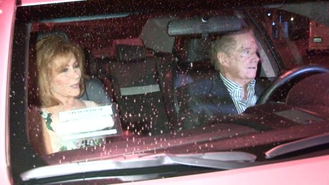 regis philbin and joy philbin depart craig's in west hollywood 07/10/13 - regis philbin stock videos and b-roll footage