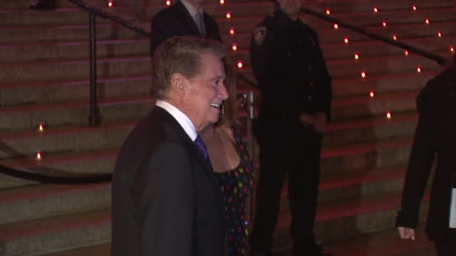 Regis Philbin and wife at the 8th Annual Tribeca Film Festival Vanity Fair Party at New York NY