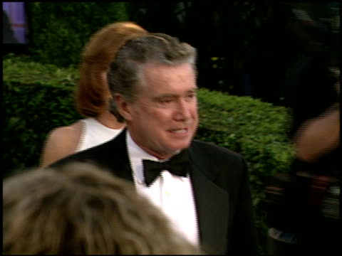 regis philbin at the 2000 academy awards vanity fair party at mortons in west hollywood california on march 26 2000 - regis philbin stock videos and b-roll footage