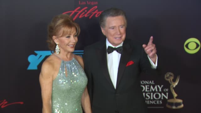 regis philbin at the 37th annual daytime emmy awards at las vegas nv - regis philbin stock videos and b-roll footage