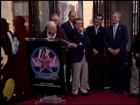 regis philbin at the dedication of regis philbin's hollywood walk of fame star at hollywood boulevard in hollywood california on april 10 2003 - regis philbin stock videos and b-roll footage