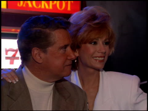 regis philbin at the natpe convention on january 25 1995 - regis philbin stock videos and b-roll footage