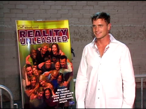 reichen lehmkuhl burke and charlie orozco at the 'reality unleashed' dvd release at the pearl in los angeles california on october 5 2004 - reichen lehmkuhl stock videos & royalty-free footage
