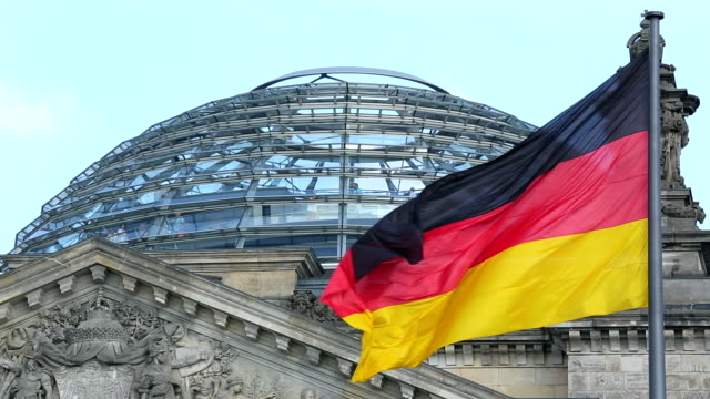 reichstag, berlino - politica video stock e b–roll