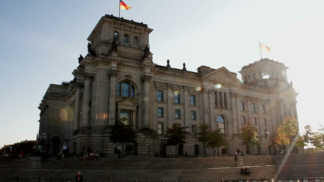reichstag berlin - politics stock-videos und b-roll-filmmaterial
