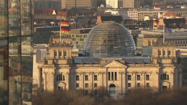 reichstag building, berlin - identity politics stock videos & royalty-free footage